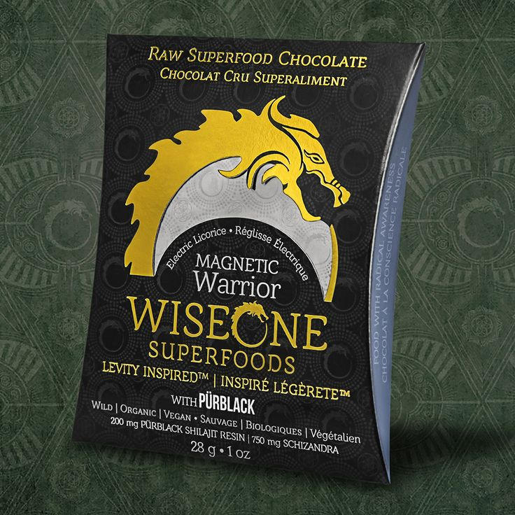 Our Magnetic Warrior Bar with jungle grown Cacao, Shizandra and Purblack Shilajit.   Chocolate designed to Fuel the Celebration.