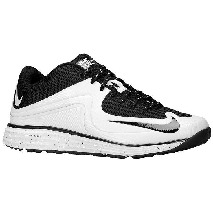 Nike Lunar MVP Pregame 2 - Men's - Baseball - Shoes - White/Black