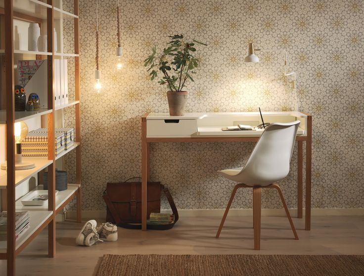 LIVING hylla och skrivbord #SvenskaHem #Skrivbord #nätt #Laptopbord #hylla