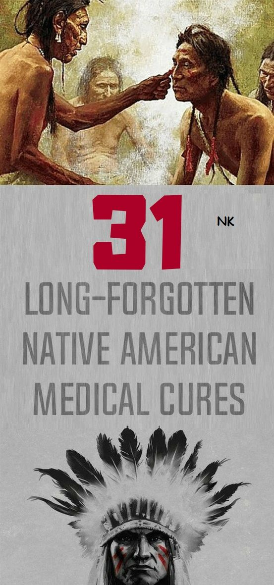 Long-Forgotten Native American Medical Cures That Cure Everything For Good Health
