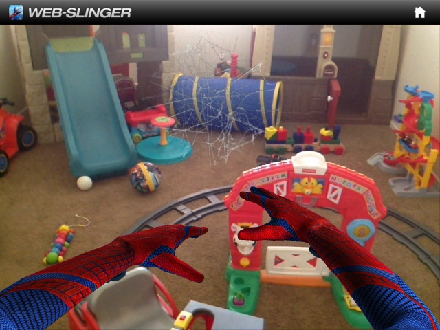 Augment your Reality: Become Spider-Man -  Pinned by @PediaStaff – Please Visit http://ht.ly/63sNt for all our pediatric therapy pins