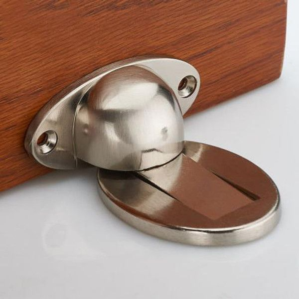 Door Holder Stopper Wedge Catch Magnetic Alloy Wall Mounted Door Holders Door Stopper Metal Door