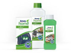 The first product launched by Amway in 1959 was L.O.C.™ Liquid Organic Cleaner—one of the first-ever biodegradable cleaning products. Amway recycles up to 95% of recyclable waste produced at the manufacturing facility in Ada, Michigan, USA.  Amway was an early innovator in the use of biodegradable surfactants in its SA8™ Laundry Detergents and its cleaning products.  Find out more: http://www.thinkgreenfootsteps.com