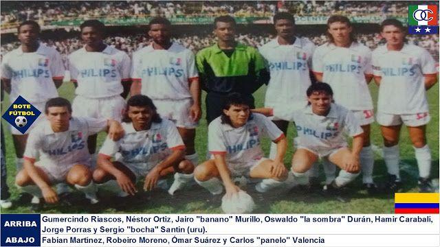 ONCE CALDAS 1991. 10° en el Fútbol Colombiano - BOTEFÚTBOL