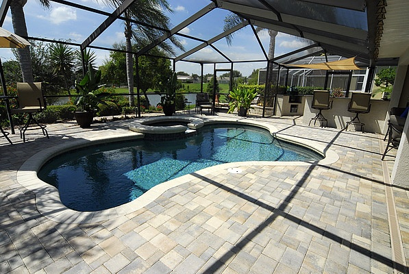 17 best images about pools on pinterest brandon florida for Florida pool and deck