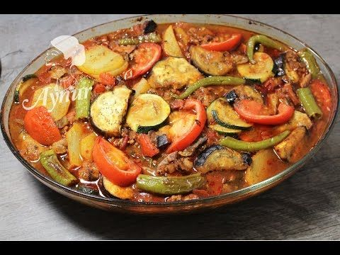 Firinda sebzeli oturtma # Patlicanli patates ve kabakli oturtma tarifi#F...