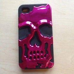 Купить киев Защитный чехол для iPhone 4/4S Череп Skull Head ( 1203404 )