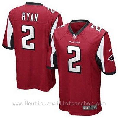 Acheter Maillot NFL Atlanta Falcons Ryan #2 Rouge €34.99