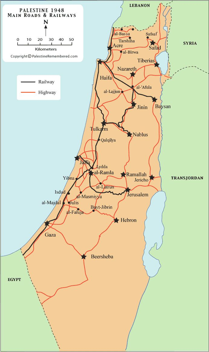 24 best maps images on pinterest maps palestine and cards palestines main roads and railways before nakba palestine remembered gumiabroncs Gallery