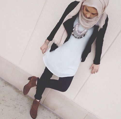 Image de hijab, fashion, and muslim                                                                                                                                                                                 More