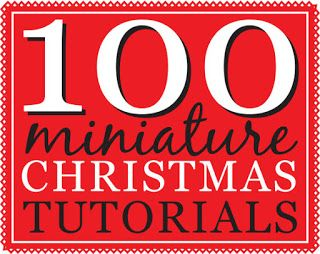 How-tos and tutorials for creating Christmas-theme dollhouse miniatures.