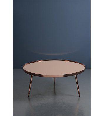 Panatella Copper Coffee Table