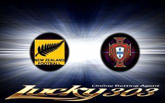 Prediksi Skor Selandia Baru vs Portugal 24 Juni 2017 | Pasaran Pertandingan Bola Selandia Baru vs Portugal Piala Konfederasi | Agenbola Online | Sbobet Online - Pada lanjutan pertandingan Piala Konfederasi ini akan mempertemukan 2 tim yaitu Skor Selandia Baru melawan Portugal . Laga antara Selandia Baru vs Portugal  kali ini akan di WIB di Stadion Krestovskyi (St. Petersburg), Selandia Baru pada tanggal 24 Juni 2017 pukul 22:00 WIB.