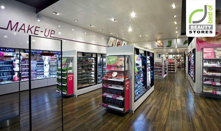 85 best retail cosmetics store images on pinterest for Retail design companies london