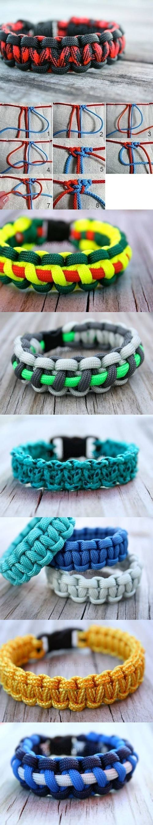 DIY Root Node Bracelets DIY Projects / UsefulDIY.com on imgfave