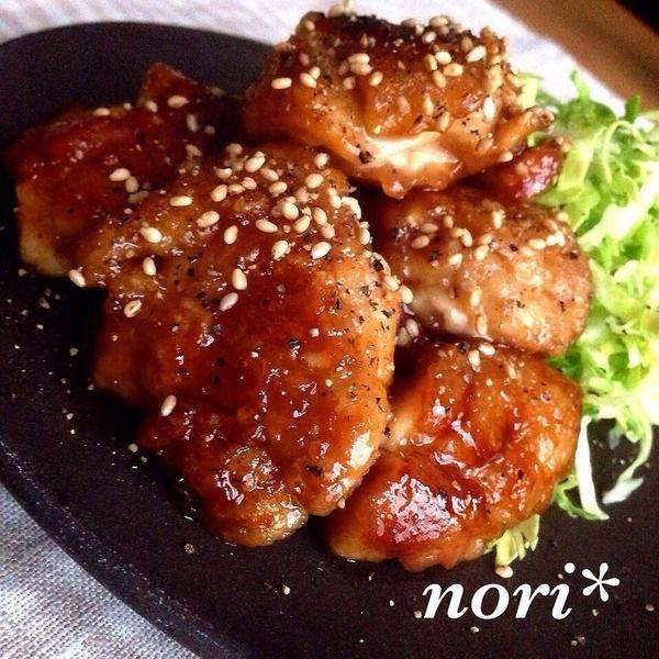 鶏もも肉の醤油だれ焼|【保存版】お弁当も夕飯のおかずもこれさえあれば!鶏もも肉の人気レシピ30選 | おとデパ