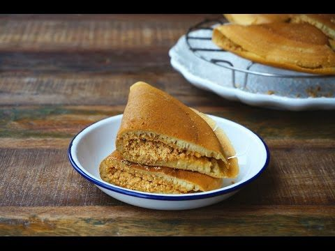 This is a thicker version of Apam Balik or pancakes filled with peanuts and sugar. The edges of the pancakes are crispy, and the middle is softer. These stre...