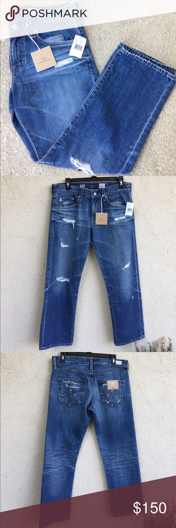 Adriano Goldschmied The Ex-boyfriend crop jeans BRAND NEW WITH TAGS adriano goldschmied Pants Ankle & Cropped