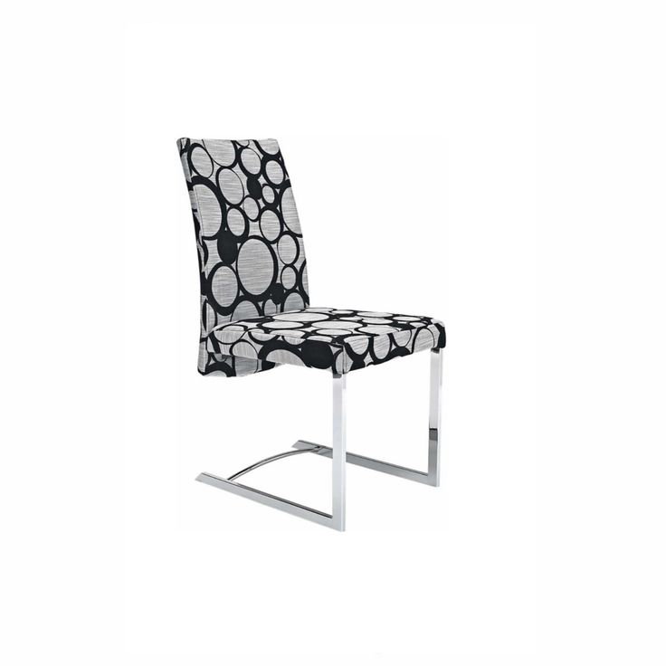 Unique Karney Black Circle Dining Chair from Domayne Online