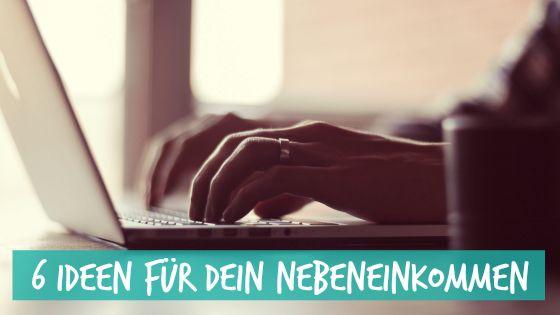 Du bist auf der Suche nach einem Nebenjob? Hier findest Du 6 Ideen!