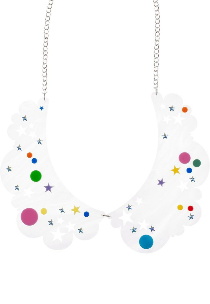 Head In The Clouds Collar Necklace