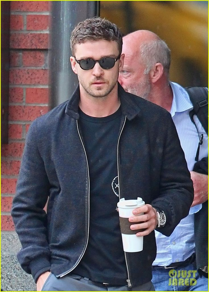 Justin Timberlake fetching my coffee.