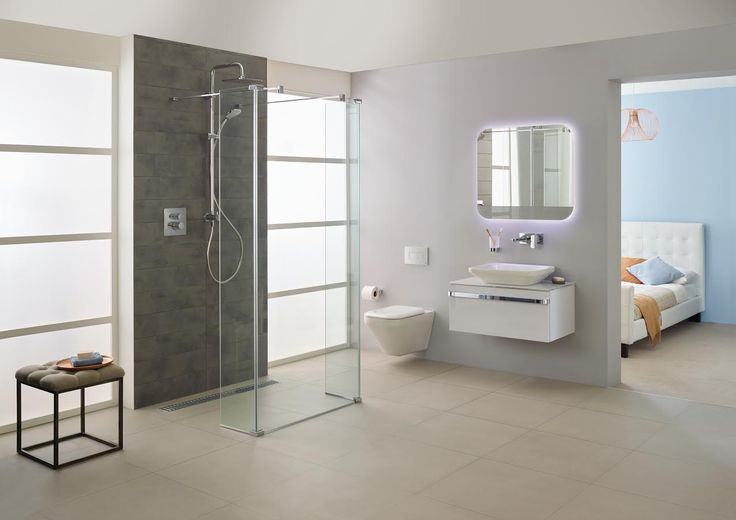 Achieving the hotel look with this Ideal Standard #bathroom