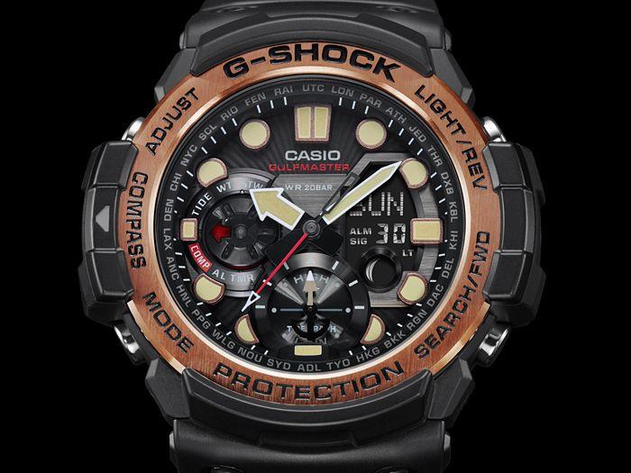 G-Shock GN-1000RG-1A — Rose Gold Gulfmaster