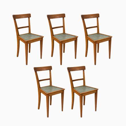 Französische Bistro Stühle, 1950er, 5er Set Jetzt Bestellen Unter:  Https://moebel.ladendirekt.de/kueche Und Esszimmer/stuehle Und Hocker/esszimmerstuehle/?  ...