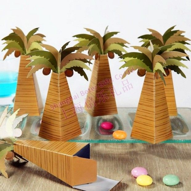 70 best taobao wedding favor boxes images on pinterest favours 12pcs th014 palm tree candy boxesfavr bag party decoration httpitem junglespirit Images