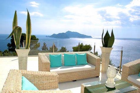 Boutique Hilltop Villa, Sorrento #italianweddingvenues #abroadweddings