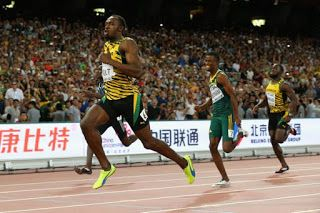 fat to fit to wealth: USAIN BOLT WAS DETERMINATION TO CLAM THE WORLD TIT...