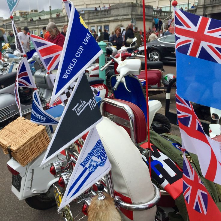 Modculture In Brighton, August Bank Holiday, 2016.