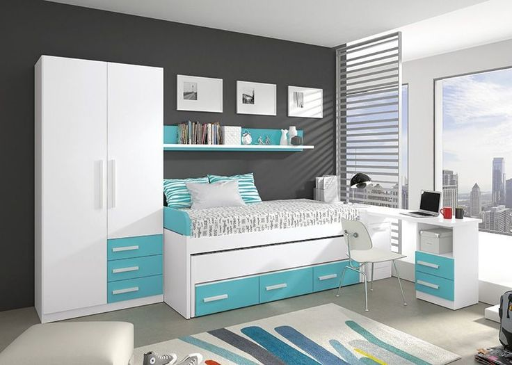 Las 25 mejores ideas sobre dormitorios juveniles precios - Dormitorios juveniles compactos ...