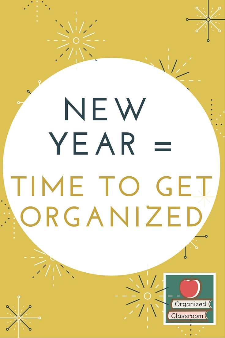 The new year brings with it the opportunity to reflect on what works and what doesn't in our organized classrooms. See some great tips at today's blog post!