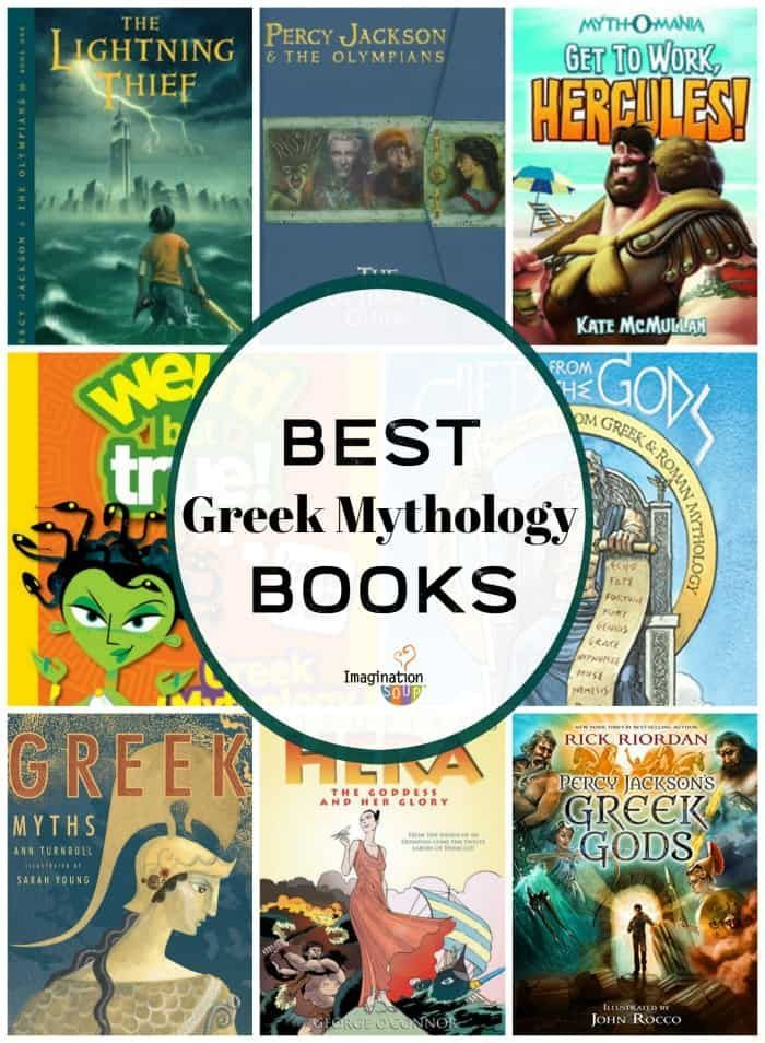 What Are The Best Greek Mythology Books For Kids Imagination Soup Mythology Books Greek Mythology Books Greek Mythology Stories