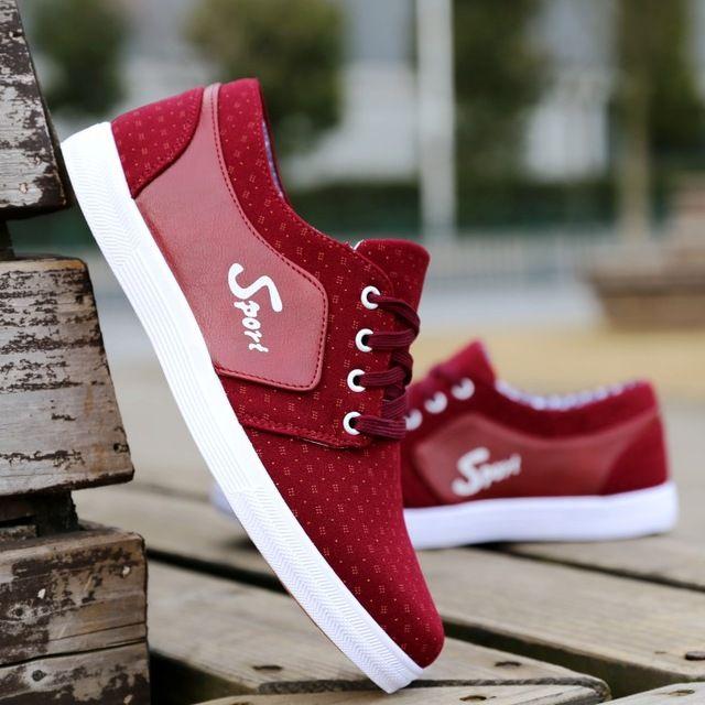 Calidad de Los Hombres Zapatos Casuales 2016 de La Venta Caliente de Moda Los Zapatos de Lona Planos de Los Hombres zapatos Masculinos Chaussures