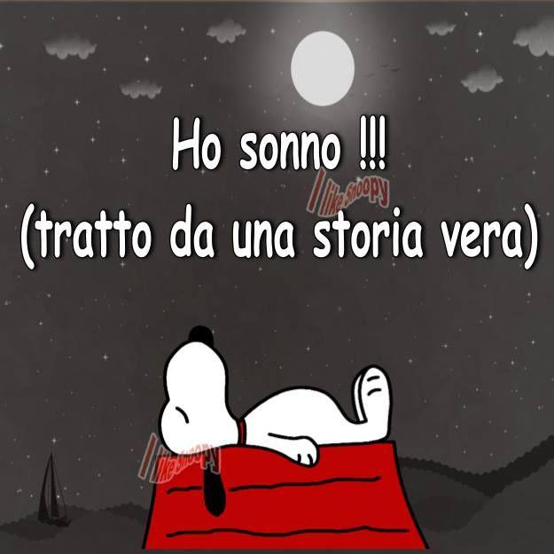 La storia di una stanca morta Snoopy