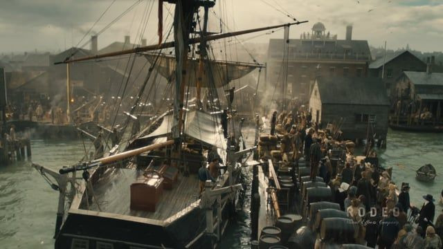 Rodeo FX is thrilled to present some of the beautiful VFX work completed for Ron Howard's In the Heart of the Sea. Our team recreated 19th-century Nantucket, including concept art, seamlessly interwoven set extensions, and evocative matte painting for a total of over 260 visual effects shots.  For more information about our VFX work on In the Heart of the Sea: http://www.rodeofx.com/all-films/heart-of-the-sea