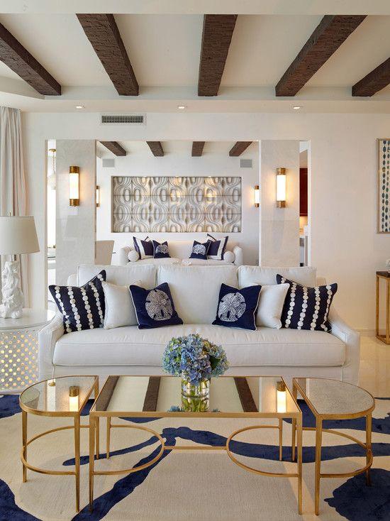 Veja 50 fotos de decoração com estilo navy para inspirar no seu próximo projeto. Confira!