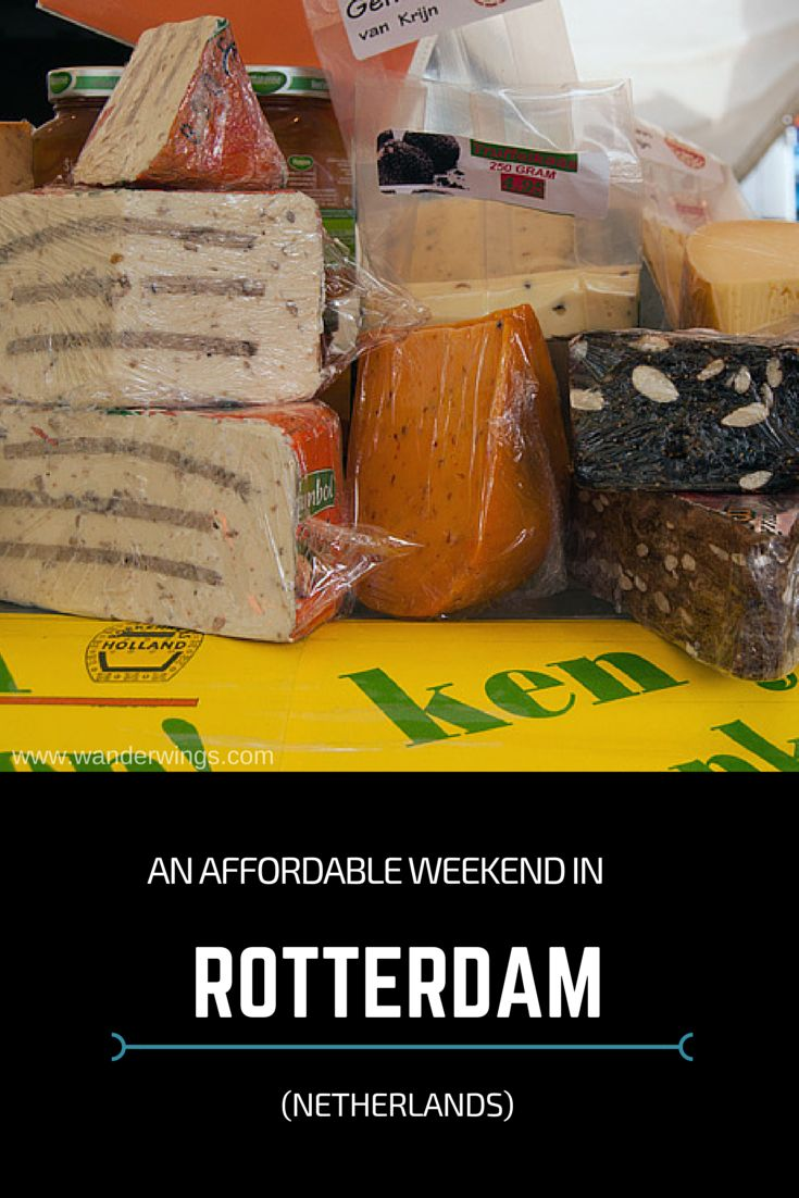 Affordable things to do in Rotterdam, Netherlands || Wanderwings