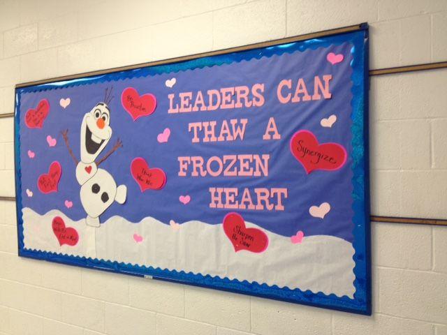 February Leader in Me Bulletin Board