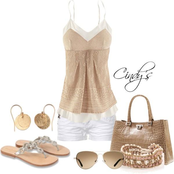 : Cute Tops, Fashion, Dream Closet, Adorable Beige, Spring Summer, Summer Outfits, Hot Summer