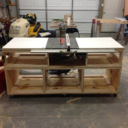 Table Saw Cabinet Base Part 1 Table Saw Pinterest Projects Cabinets And Table Saw