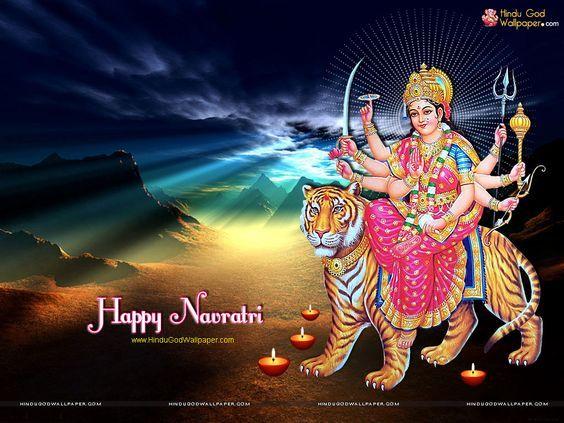 Happy Navratri Wallpaper for Facebook - Free Downlaod | Navratri