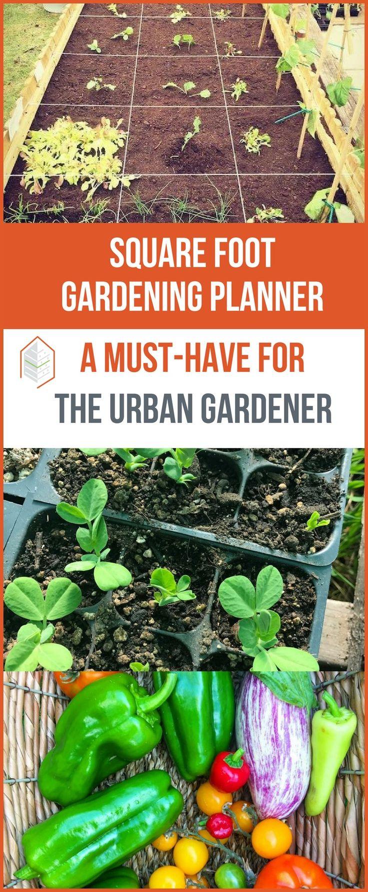 Looking for a square foot gardening planner? Square Foot Gardening is a garden planning method developed by Mel Bartholomew. Learn how does it work here! #urbangardening #urbanfarming #gardening #diy #garden #ugrpost