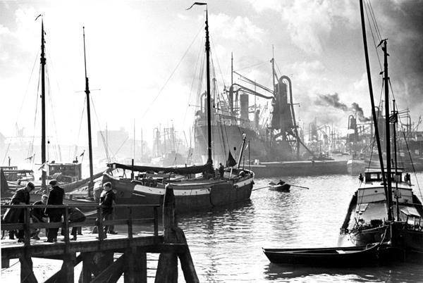 Maashaven Rotterdam (jaartal: 1930 tot 1940) - Foto's SERC