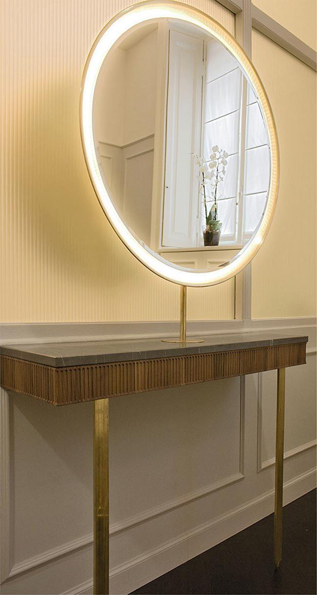 M s de 25 ideas incre bles sobre espejos para peluqueria for Decoracion espejos redondos pared