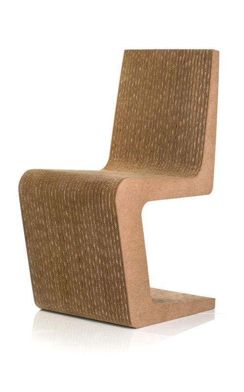 Meble z tektury krzesło LARVIK | IDEACARTON.PL