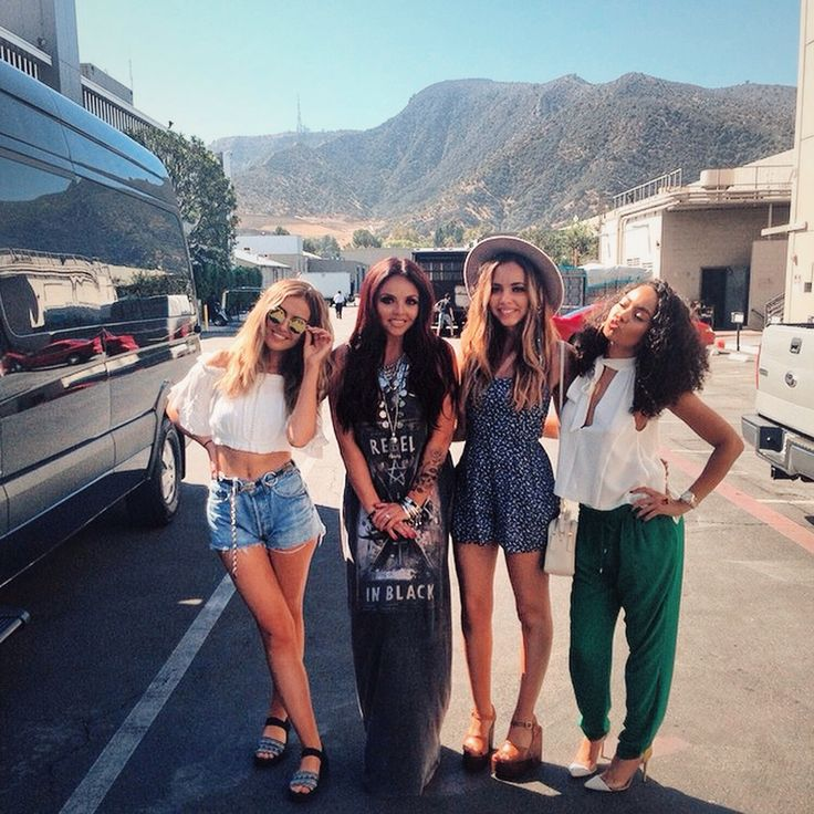 Little Mix / Perrie Edwards / Jesy Nelson / Jade Thirlwall / Leigh Anne Pinnock. boho street style.
